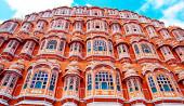 Hawa Mahal palace, Jaipur — Stok fotoğraf
