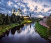 Ex ritratto di Pskov — Foto Stock