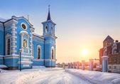 голубой храм — Стоковое фото