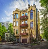 The house on the street Baumanskaya — Stock Photo