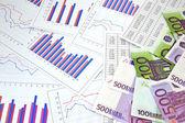 Financial charts — Stock Photo