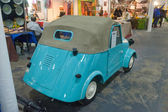 "Soviet motorized conveyance SMZ at the exhibition ""Oldtimer"" Moscow, rear view — Stockfoto"