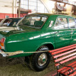 Постер, плакат: Soviet experienced GAZ 24 95 Volga in the Museum of retro cars in Rogozhsky Val Moscow