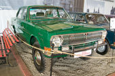 "Soviet experienced GAZ-24-95 ""Volga"" in the Museum of retro cars in Rogozhsky Val, Moscow — Stock Photo"