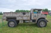 "3. internationale forum ""motoren krieg"", amerikanisches militär auto ford f60l kanada — Stockfoto"