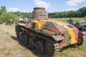 """3-й международный форум «войны моторов», японский танк 2 мировой войны, «ха го"""" — Стоковое фото"""