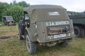 """Retro araba dodge wc-57 komut araba motorlarının""""savaş"""" şehir chernogolovka yakınındaki 3 Uluslararası Toplantı — Stok fotoğraf"""