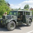 Постер, плакат: British car Humber FWD at the 3rd international meeting of Motors of war near the town of Chernogolovka Moscow region