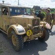 Постер, плакат: British car Humber FWD at the 3rd international meeting of Motors of war near the town of Chernogolovka Moscow region front view