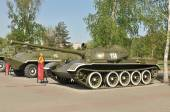 Soviet tank T-54 in Victory Park, Chelyabinsk — Stock Photo