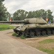 Постер, плакат: The tank Museum in suburban Snegeri heavy tank Joseph Stalin Is 3