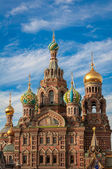 Church of the Saviour on the Spilled Blood, St Petersburg, Russia — Foto de Stock