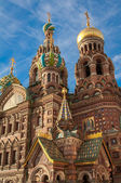 Church of the Saviour on the Spilled Bload, St Petersburg, Russia — Stock Photo