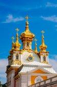 East chapel in Peterghof, St Petersburg, Russia — Stock Photo