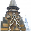 Wooden church in the Izmailovo Kremlin, Moscow, Russia — Stock Photo #66179369