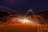 Light in the Desert — Stock Photo