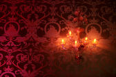 蜡烛灯 — 图库照片