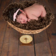 Weighing the Baby — Stock Photo #53679993