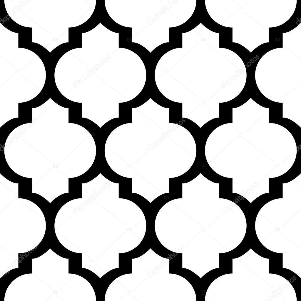 moroccan pattern stencil