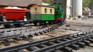 Chemin de fer Hobby jardin — Vidéo