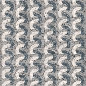 Seamless paper elementary rippling patterns — Stock Photo