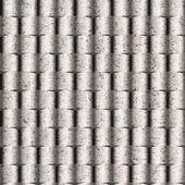 Papper rundade brickor för sömlös bakgrund — Stockfoto