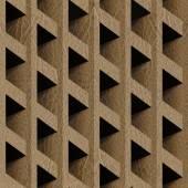Modèle abstrait lambris - fond transparent — Photo