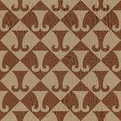 Abstract paneling pattern - seamless background — Stock Photo