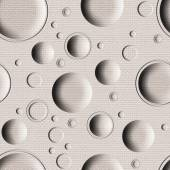 Abstract paneling pattern - seamless background - bubble pattern — Stock Photo