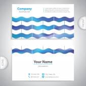 Ondas de cartão universal - texturas — Vetor de Stock
