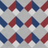 Abstract decorative pattern - seamless pattern - red-blue color  — 图库照片
