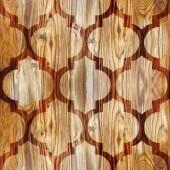 Abstract paneling pattern - seamless pattern - parquet flooring — Stock Photo