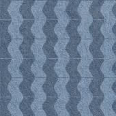 Abstracte golvenpatroon - naadloze achtergrond - blue jeans textuur — Stockfoto
