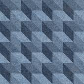 Abstract paneling pattern - seamless pattern - blue denim — Stock Photo