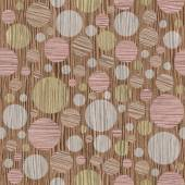 Abstract circular pattern - different colors - Blasted Oak Groov — Stock Photo