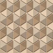 Abstract checkered pattern - seamless background - White Oak — Stock Photo