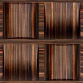Abstract paneling pattern - seamless background - Ebony wood — Стоковое фото