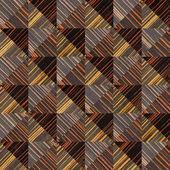 Decorative wooden pattern - seamless background - Ebony wood — Stock Photo