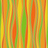 Abstract wavy pattern - seamless background - citrus texture — Foto de Stock
