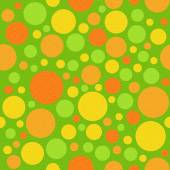 Abstract circular pattern - different colors - seamless backgrou — Stock Photo