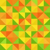 Abstract triangle pattern - different colors - seamless backgrou — Stock Photo