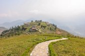 Beautiful highland at Sapa — Stock Photo