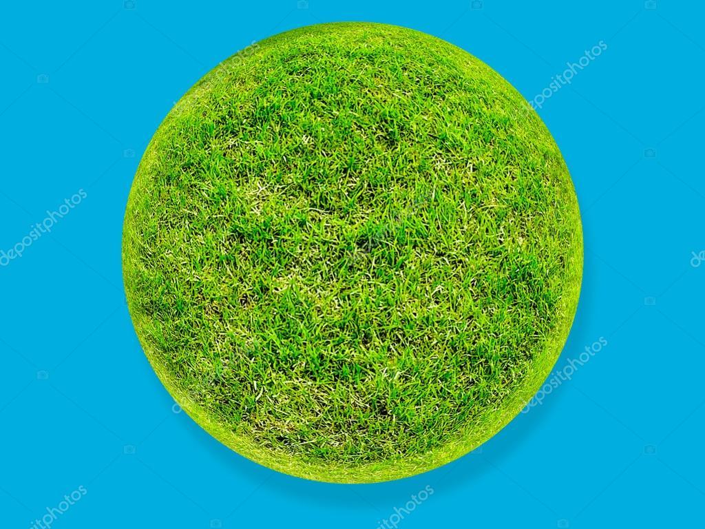 grünem gras oberfläche boden-welt-kreis — stockfoto © afe207 #63920011