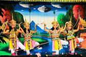 Thailand - November 6 :group of women show manora dance, folk-da — Stock fotografie