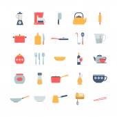 Set of cooking icons — Stockvektor