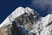 Peak of Lobuche East — Stock Photo