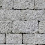 Dry wall made of hand cut granite stones — Stock Photo #78282726