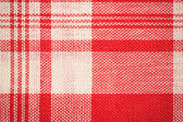 Textile surface. Red and white cloth texture — Стоковое фото