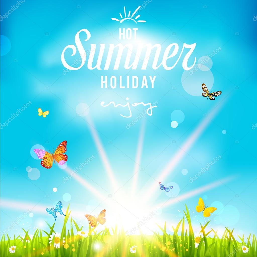 Background image 7945 - Summer Holiday Background Stock Vector 87945120