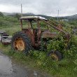 Old tractor — Stock Photo #79806086